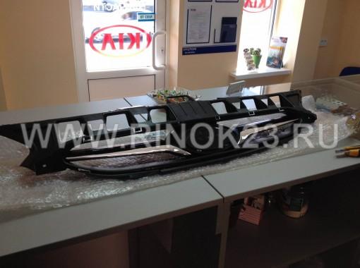 Решетка радиатора Hyundai Solaris 2011-