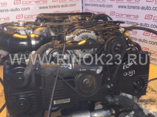 Контрактный двигатель EJ205 Subaru Forester Краснодар