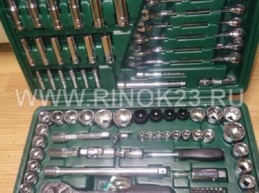 Набор инструментов в чемодане для авто. УНИВЕРСАЛЬНЫЙ набор инструментов SATA Chrome Vanadium для ремонта автосервиса или инструмент в автомобиль