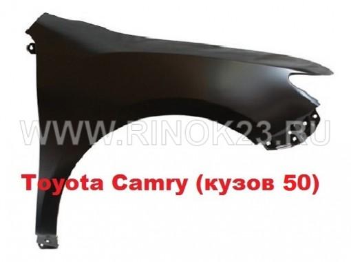 Крыло переднее (правое, левое) на Toyota Camry кузов 50