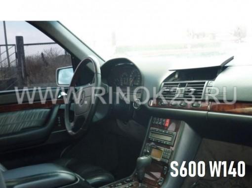 Mercedes S600 W140 1998 г. в разборе на запчасти в Кропоткине