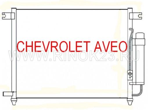 Радиатор кондиционера CHEVROLET AVEO 1.4 2005 г. в Краснодаре
