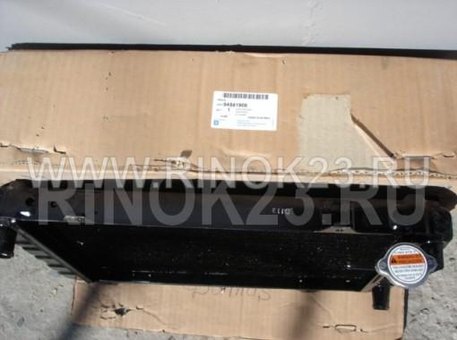Радиатор охлаждения двигателя Daewoo Damas Краснодар