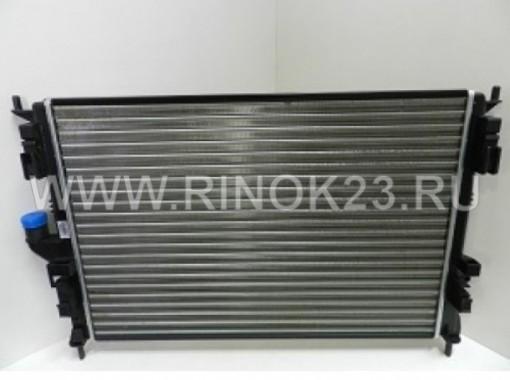 Радиатор охлаждения двигателя Renault Logan, Clio 2, Megane, Sandero, Symbol 1996-2004 МКПП/АКПП в Краснодаре