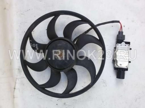 Вентилятор радиатора б.у. с модулем для Ford Focus 3