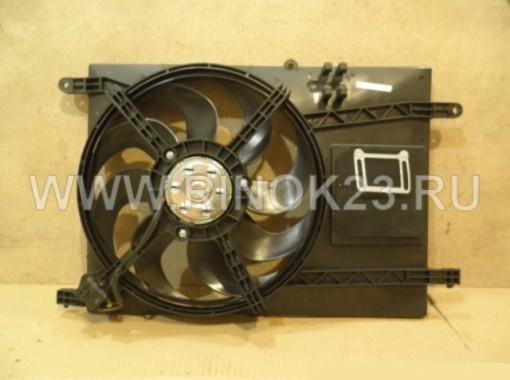 Вентилятор охлаждения радиатора  Chevrolet Aveo T200/T250 (96536638)