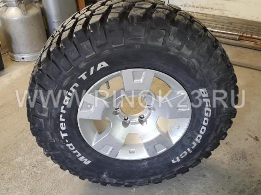Шины BFGoodrich 285/75 R16 с диском в Тюмени