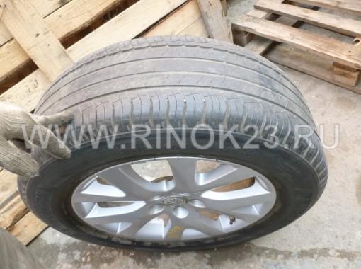 Диски литые R18 на Mazda CX7