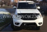 УАЗ Patriot внедорожник 4WD 2015 г. бензин 2.7 л МКПП Краснодар