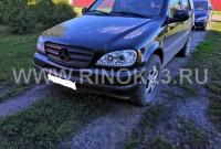 Mercedes-Benz ML 270 CDI 4MATIC 2001 Внедорожник СОЧИ