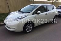 Nissan Leaf 2012 Хетчбэк Краснодар