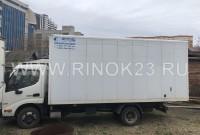 Hino 300 2013 Мебельный фургон краснодар