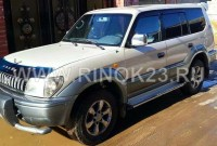 Toyota Land Cruiser Prado 2000 г. 4WD ГАЗ/бензин 3.0 л МКПП Краснодар