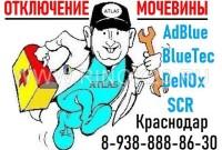 Атлас отключению мочевины AdBlue