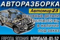 Контрактные двигатели коробки в Краснодаре разборка Автомир23