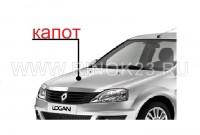 Капот в цвет кузова Renault Logan в Краснодаре