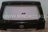 Крышка багажника (пятая дверь) б.у Toyota Land Cruiser Prado
