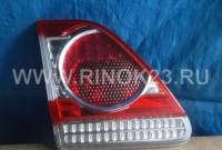 Стоп сигнал (фонарь) б.у в крышку багажника Toyota Corolla E150