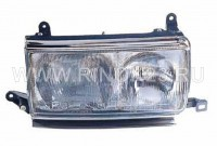 Фара TOYOTA LAND CRUISER 80 95-98(R+L)