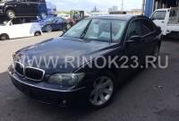 запчасти BMW 740 E65 2005 авто в разборе Краснодар