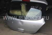 Крышка багажника б/у Opel Corsa D 2006-2013 г купить в Краснодаре