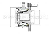 Ступица передняя NISSAN TEANA PJ32(VQ35)/MURANO PNZ51(VQ35) 32 шлица Краснодар