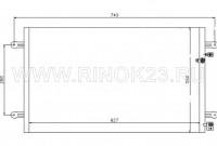 Радиатор кондиционера AUDI A6 05-11 Краснодар