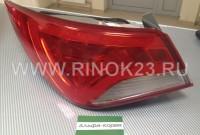 Фонарь задний Hyundai Sonata YF 2012-2016 светодиодный Краснодар