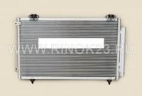 Радиатор кондиционера TOYOTA COROLLA 00-06 EURO / RUNX / ALLEX 04-06 / AVENSIS ##T25# 1 / 3ZZ 03-08 Краснодар