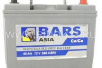 Аккумулятор Bars 45 Ач