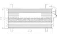 Радиатор кондиционера MAZDA6 USA 02- Краснодар