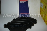 Колодки тормозные передние на Daewoo Tico/ДэуТико