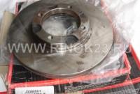 Тормозной диск на Hyundai Accent до 1999 г.1.3/1.5 94-00/PONY 1.3/1.5 85-95 передний