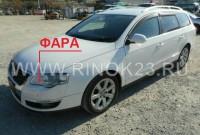 Фара головного освещения б/у для Volkswagen Passat B6 в Краснодаре