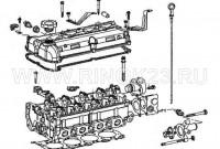 Головка блока цилиндров (ГБЦ) Hafei Brio 468