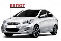 Капот б/у Hyundai Solaris в Краснодаре