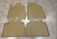 Автомобильные коврики в салон (полиуретан, бежевые) для Lexus RX С 2003 Краснодар