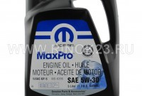 Моторное масло Mopar MaxPro Engine Oil 5W-30 SN, 4.9 л