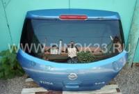 Контрактная дверь задняя (5-я) на Nissan Tiida C11 в сборе купить в Краснодаре