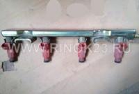 Топливная форсунка с рейкой б.у (16600-9F600) Nissan QG18