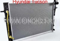Радиатор охлаждения двигателя Hyundai Tucson, Kia Sportage 2.0-2.7 л. (A) 2005 Краснодар