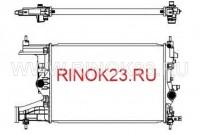 Радиатор охлаждения ДВС Chevrolet Cruze, Opel Astra J Краснодар