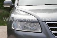 Реснички (накладки) на фары VW Touareg 2002-2006 Кропоткин
