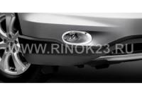 ХРОМ. Окантовка для ПТФ WINBO для HONDA CR-V III  2010-2012г.