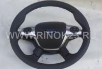 Руль Ford Focus 3 б/у с кнопками управления магнитолой Краснодар