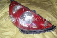 Фара правая бу Honda Fit галоген, красный отражатель