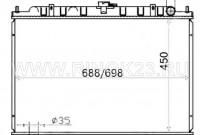 Радиатор  SERENA 1999-2002 SR20 YD25 Краснодар