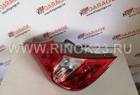 Фонарь задний Hyundai Solaris 2010-2017 Хэтчбек Краснодар