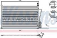 Радиатор кондиционера AUDI A6 / ALLROAD 2.7T 1997-2004 Краснодар