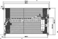 Радиатор кондиционера Toyota MARK, CHASER, CRESTA X9 1992-1996 г. в Краснодаре